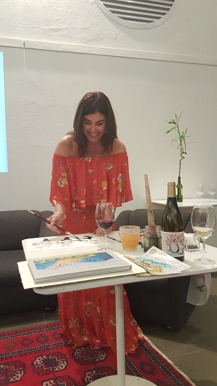 Painting with Wine - Vinicultural and Oenology Event